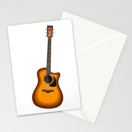 Guitar - Guitar Player Stationery Cards