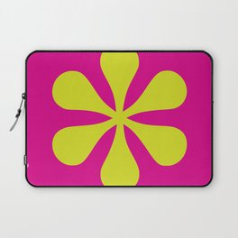 Pop-art Asterisk Laptop Sleeve