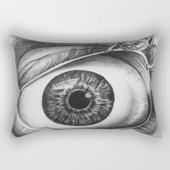 INTERNAL BATTLE Rectangular Pillow
