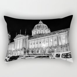 SF City Hall Rectangular Pillow