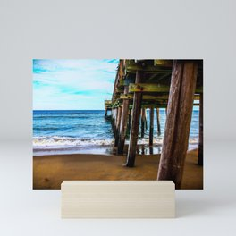 Little Island Fishing Pier Mini Art Print