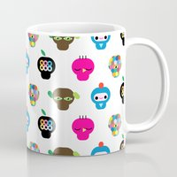 ufo Mugs featuring Ufo by Plushedelica
