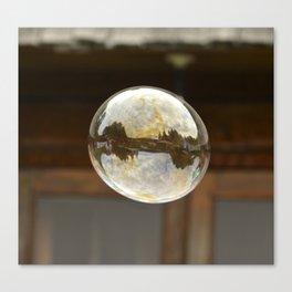 bubble wishes Canvas Print
