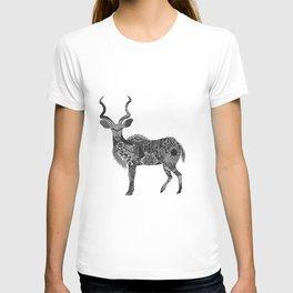 Henna-Inspired Kudu  T-shirt