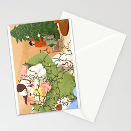 A Modern Christmas Stationery Cards