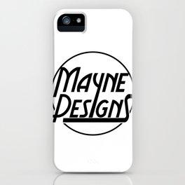 Mayne Circle iPhone Case