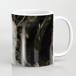 White Lady Marble Sculture Statue Coffee Mug