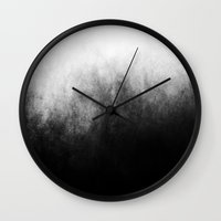 outdoor Wall Clocks featuring Abstract IV by morenina