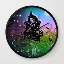 Lakshmi Luminaria Wall Clock