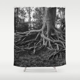 Putting Down Roots Shower Curtain