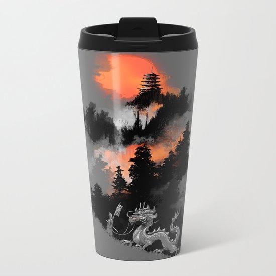 A samurai's life Metal Travel Mug