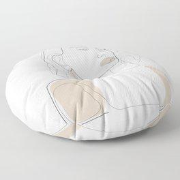 Sun-Kissed Floor Pillow