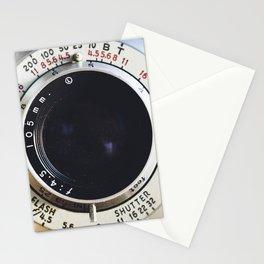 Close-Up Photo of Vintage Camera Stationery Cards