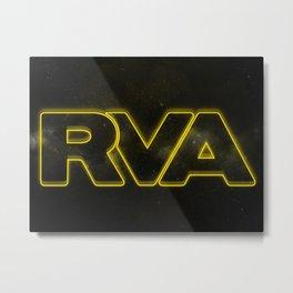 Rva Logo | ' Star War Galaxy Style ' Metal Print