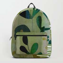 Yellow garden Backpack