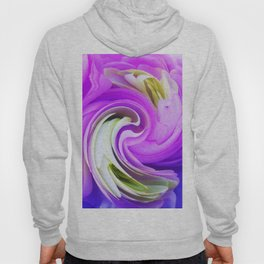 308 - Flowers abstract design Hoody