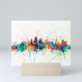 Kansas City Skyline Mini Art Print