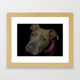 Innocent Eyes Framed Art Print