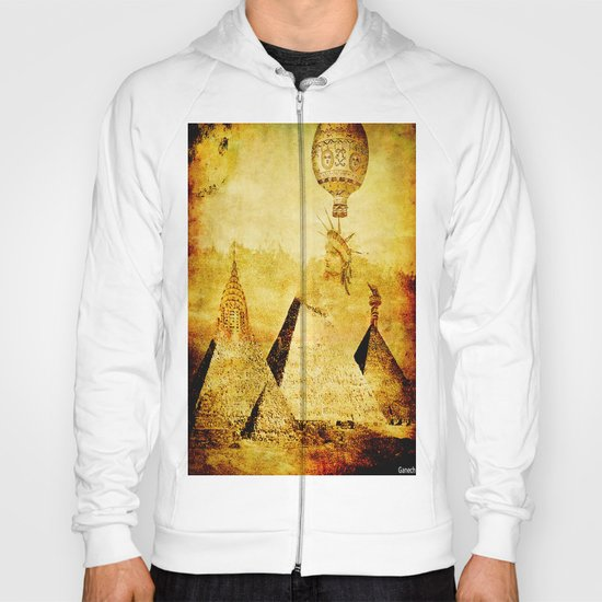 The transformation of pyramids Hoody