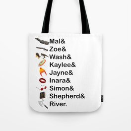 Firefly Names Tote Bag