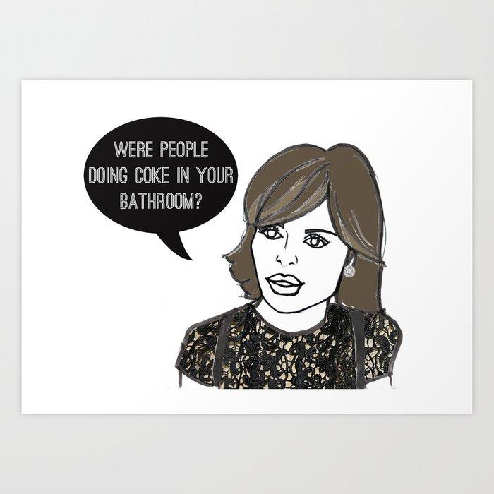 Your Bathroom Art Print