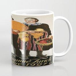 Vintage poster - Zurich Coffee Mug