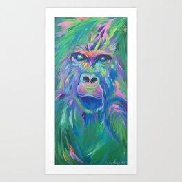 Harambe Art Print