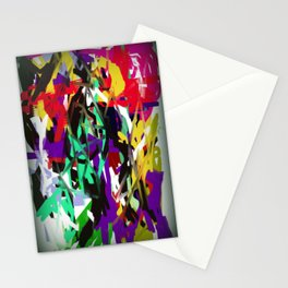 "Abstract ""Too Busy"" Stationery Cards"