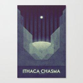 Tethys - Ithaca Chasma Canvas Print