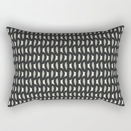 geo six-celadon Rectangular Pillow