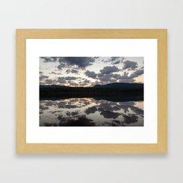 Lava Lake Sunrise Framed Art Print