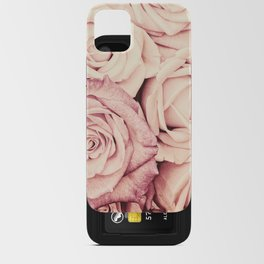 Some people grumble Floral rose roses flowers garden pink iPhone Card Case
