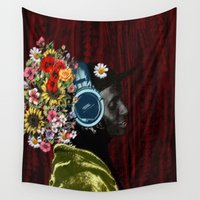 jay fleck Wall Tapestries featuring murvin jay by madild