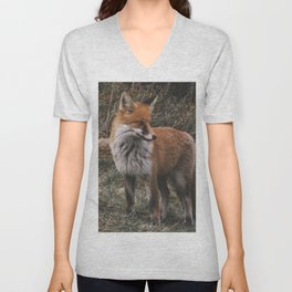 Feelin' Foxy Unisex V-Neck