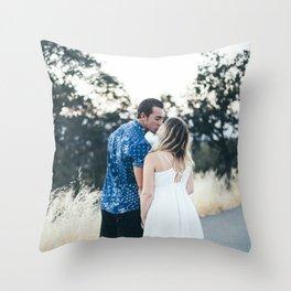 Luke and Alina Throw Pillow
