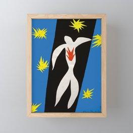 The Fall of Icarus, Henri Matisse Framed Mini Art Print