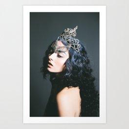 Queen, Oh Thumbelina - Dark Fashion Print Art Print