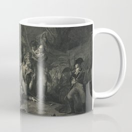 The Path to Liberty. Death of Major General Montgomery Dec. 31st 1775 Coffee Mug