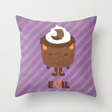 Devil's Food Cake Throw Pillow