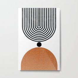 Abtract Modern Metal Print