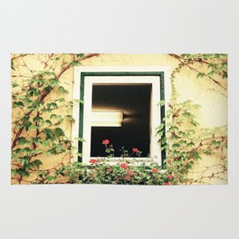 Window and ivy Rug