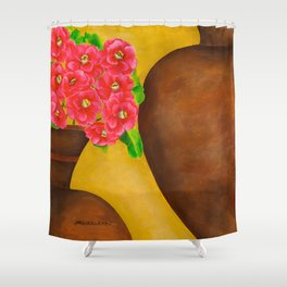 Camellias Shower Curtain