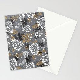 Festive Forest - Grey Stationery Cards