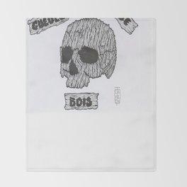 GUEULE DE BOIS Throw Blanket