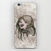 gore iPhone & iPod Skins featuring Gore Girl by Savannah Horrocks