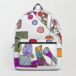 stage fright Backpack