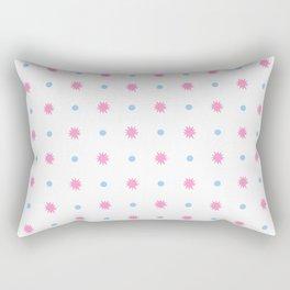 stars 103- blue and pink Rectangular Pillow