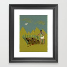 FIELD OF IDEAS Framed Art Print