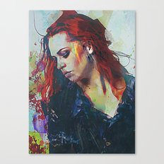 Mostly Canvas Print