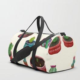 Pocket Cactus Duffle Bag